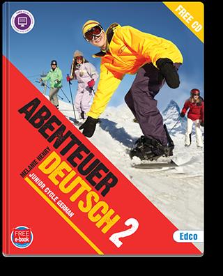 Abenteuer Deutsch 2 Textbook Cover 320px